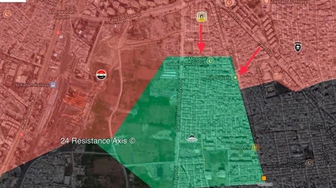Cuộc tiến công của lực lượng Palestine vào quân Trại ti nam Yarmouk