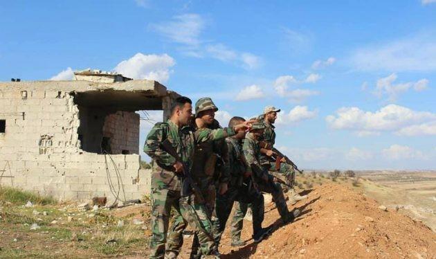 Các đơn vị quân đội Syria tấn công Hama - ảnh minh họa Mardas News