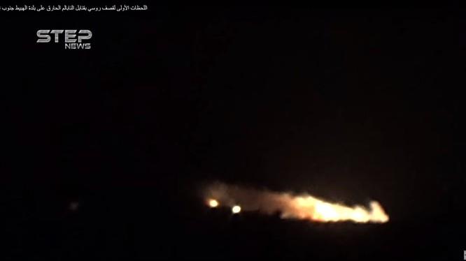 Không quân Nga không kích ác liệt Hama, Idlib, ảnh minh họa video