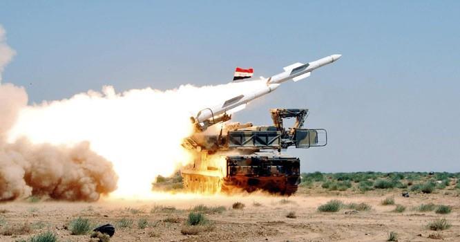 Lực lượng phòng không Syrai phong tên lửa Kvadrat - anh minh họa South Front