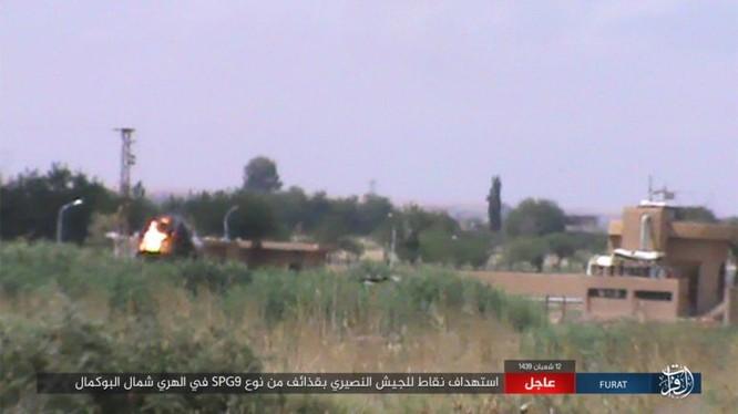 IS tấn công các vùng nông thôn ở Deir Ezzor. Ảnh minh họa của Amaq