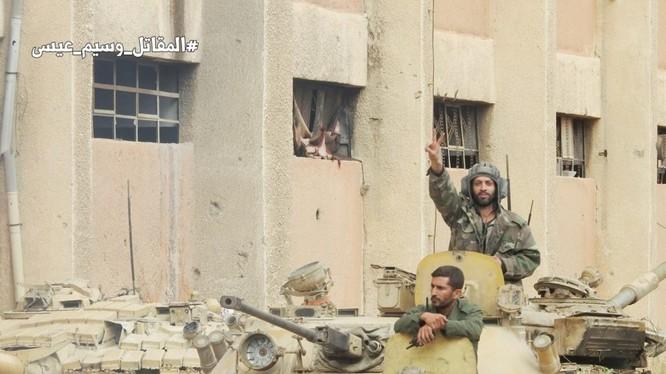 Các đơn vị quân đội Syria và Palestine tấn công quận Tại tị nạn Yarmouk. Ảnh minh họa South Front