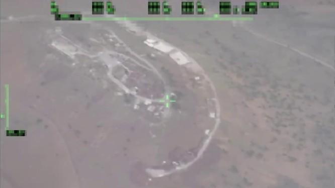 Không quân Nga không kích Daraa, ảnh minh họa video Rusvecna