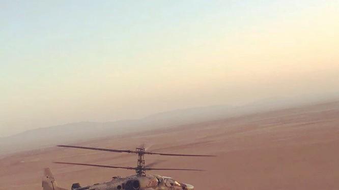Trực thăng tấn công Ka-52, vai trò quyết định chiến thắng IS ở Deir Ezzor. Ảnh minh họa South Front