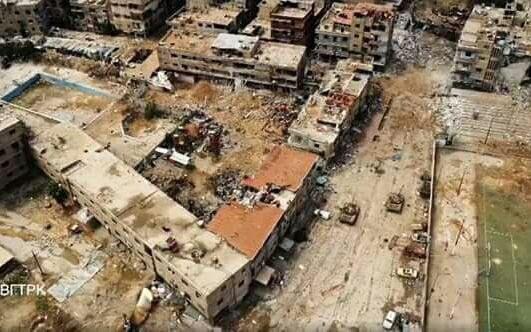 Quân đỘi Syria tiếp tục tấn công quận Yamouk