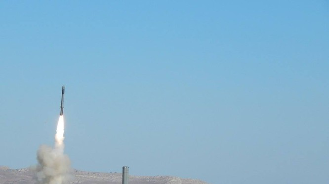 Phóng tên lửa chống chiến hạm nổi Bastion ở Syria