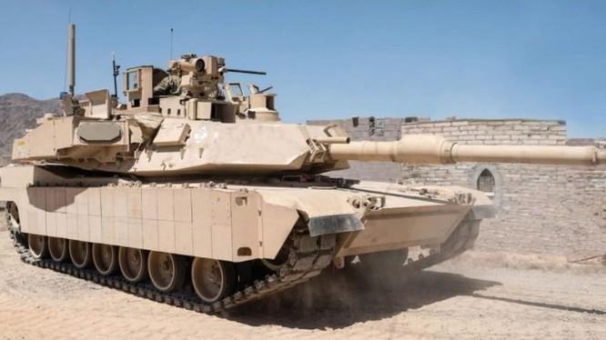 Xe tăng Mỹ M1 Abrams lắp thủ nghiệm hệ thống Trophy