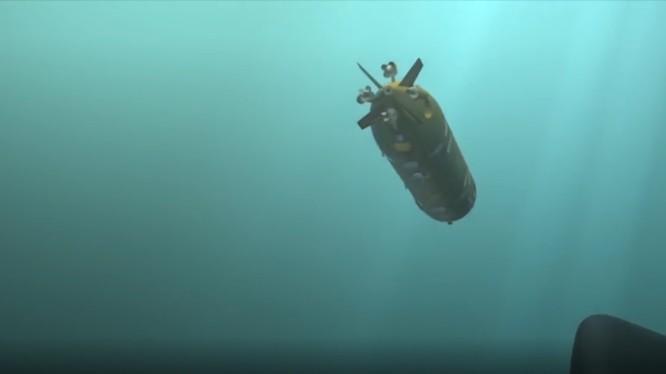 Ngư lôi hạt nhân Poseidon Nga