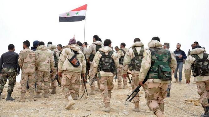 Quân đội Syria trên chiến trường Aleppo. Ảnh minh họa South Front