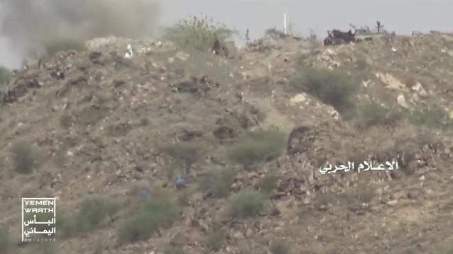 Cuộc tấn công vào căn cứ quân sự quân đội Ả rập Xê út của lực lượng Houthi. Anh minh họa video.