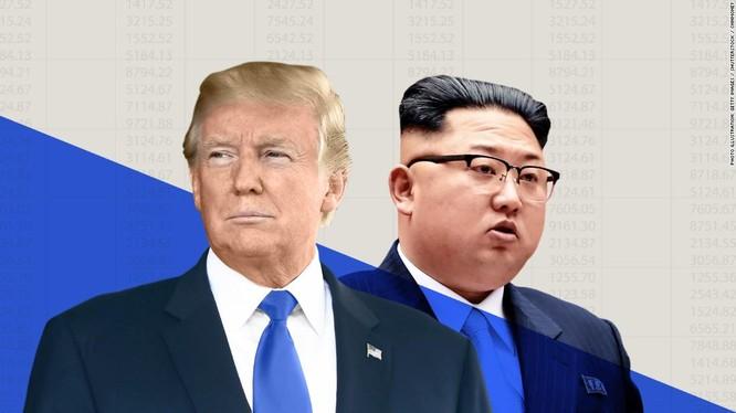 Cuộc gặp thượng đỉnh Donald Trump và Kim Jong un. Ảnh minh họa RT