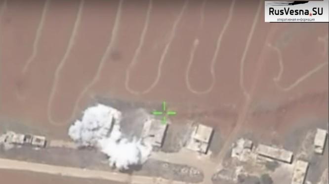 Lực lượng không quân Syria không kích Hama, Video kênh Rusvessna