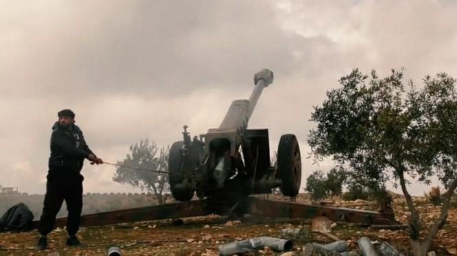 Lực lượng Hồi giáo cực đoan tấn công quân đội Syria ở Daraa. Ảnh minh họa South Front