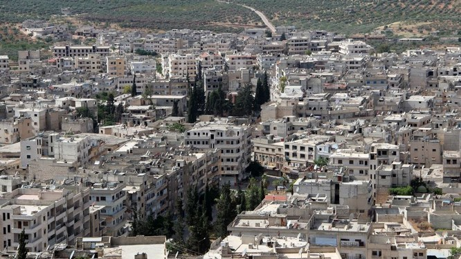 Một góc của thành phố Idlib. Ảnh minh họa MasdarNews