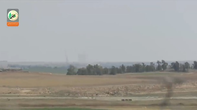 Hamaz bắn đạn cối tự chế vào căn cứ quân sự Israel. Ảnh minh họa Video