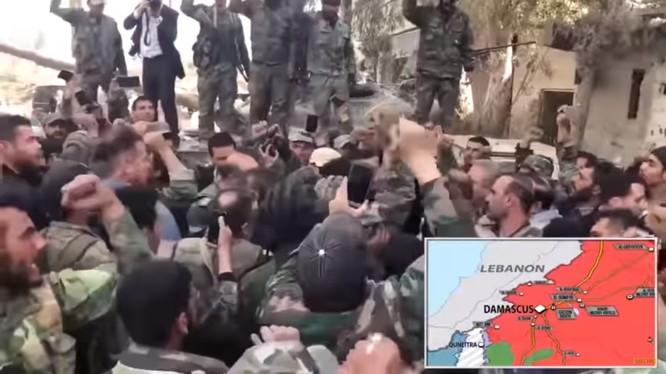 Binh sĩ quân đội Syria nhập ngũ. Ảnh minh họa South Front