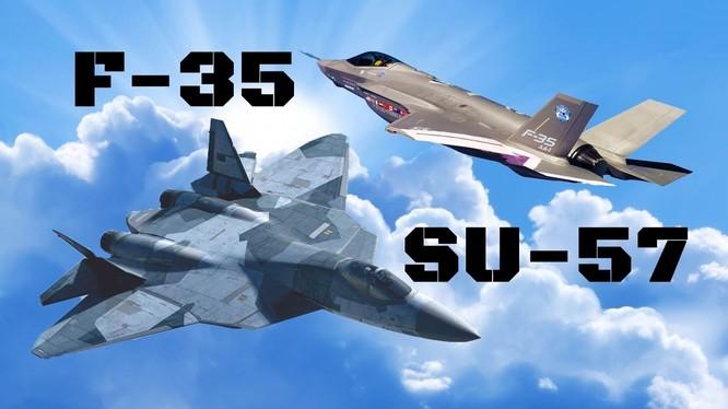 Cuộc cạnh tranh F-35 và Su - 57 trên truyền thông Thổ Nhĩ Kỳ. Ảnh minh họa Fort Russisn