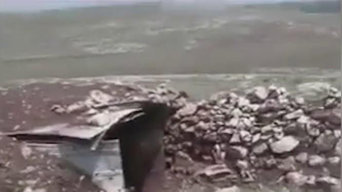 Quân đội Syria phát hiện kho vũ khí trên vùng nông thôn miền bắc Hama