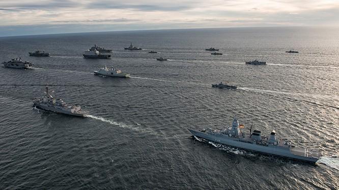 Các cuộc diễn tập của NATO trong khu vực vùng Ban Tích
