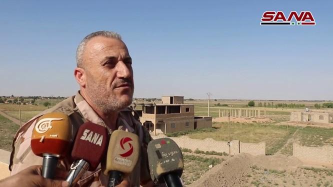 Quân đội Syria đánh bại IS ngoại vị thành phố Abukamal. Ảnh minh họa video