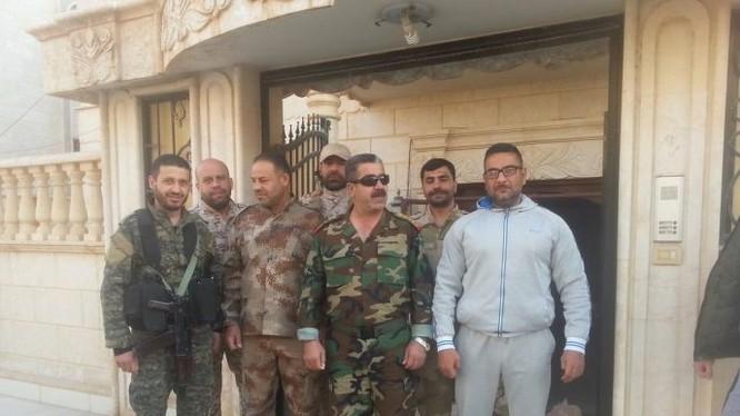 Ban chỉ huy lữ đoàn 104 Vê binh Cộng hòa ở Deir Ezzor. Ảnh minh họa Masdar News