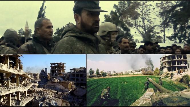 Ảnh minh họa phim tài liệu Cuộc chiến giải phóng Đông Ghouta.