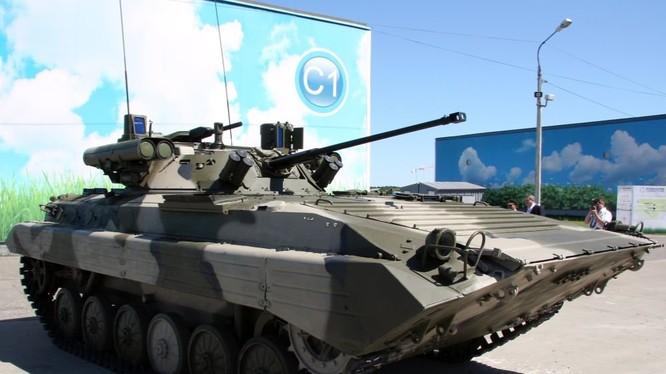 Xe bộ binh chiến đấu BMP-2M Berezhok, ảnh minh họa video RG