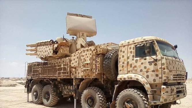Tổ hợp tên lửa Pantsir-S1 quân đội Syria. Ảnh minh họa South Front