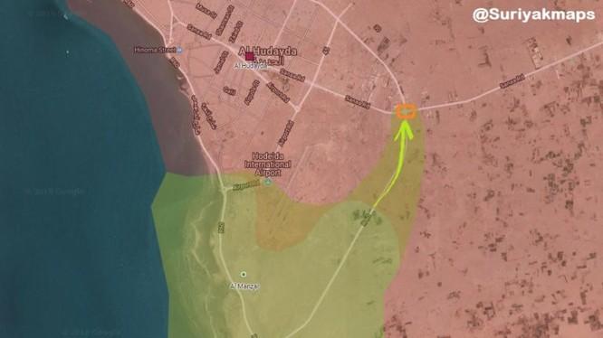 Mũi tiến công chính của lực lượng Liên minh quân sự do Ả rập Xê út dẫn đầu. Ảnh minh họa South Front