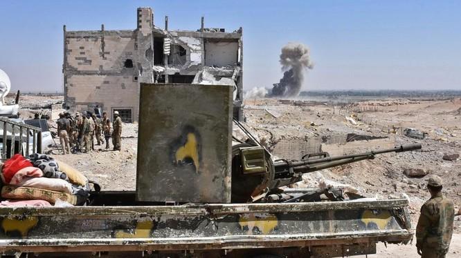 Quân tình nguyện Hashd Al-Sha'abi ở Deir Ezzor