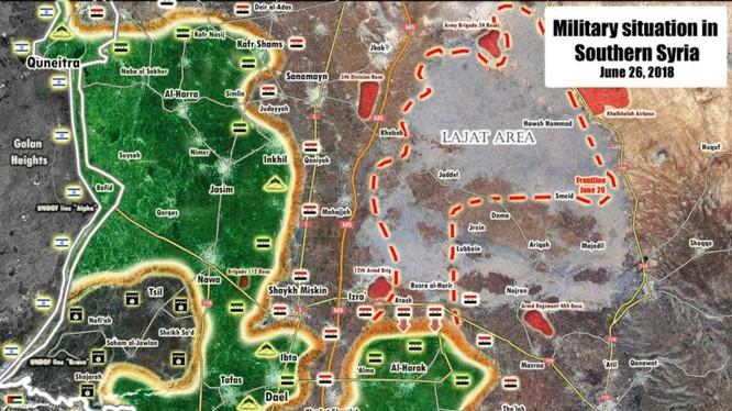Tổng quan tình hình chiến sự Syria ngày 26.08.2018 theo South Front