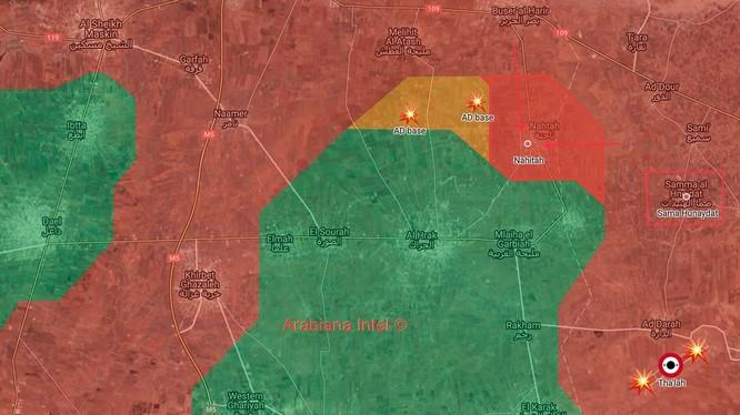 Lực lượng Tiger giải phóng hai làng liên tiếp ở Daraa. Ảnh South Front