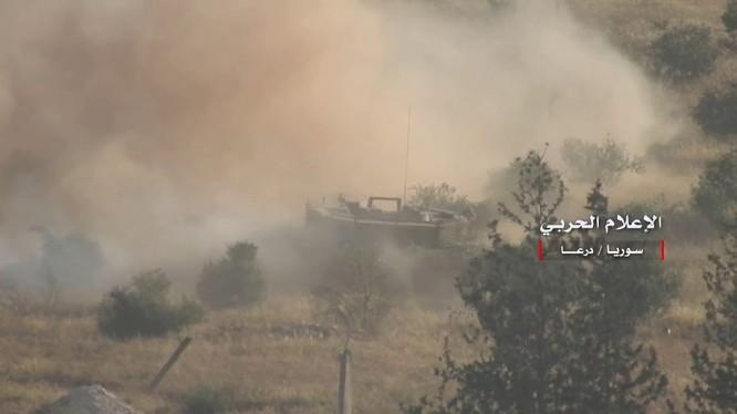 Vệ binh Cộng hòa tấn công đánh chiếm cao điểm Tal Zamitiyah. Ảnh minh họa Video