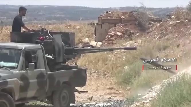 Quân đội Syria tiến công trên chiến trường ngoại ô Daraa