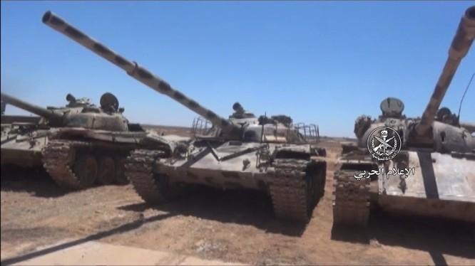 Quân đội Syria phát hiện một kho vũ khí khổng lồ ở Daraa