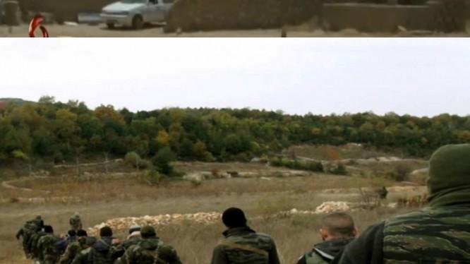 Binh sĩ quân đội Syria ở Latakia. ảnh minh họa Masdar News