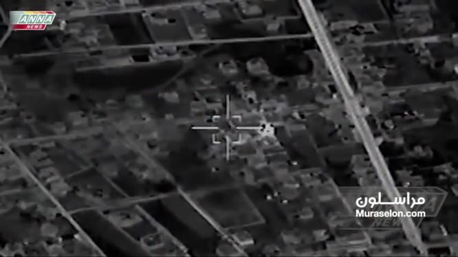 Không quân Nga không kích Daraa. Anh video Muraselon