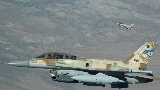 Máy bay chiến đấu Israel, ảnh minh họa Masdar News