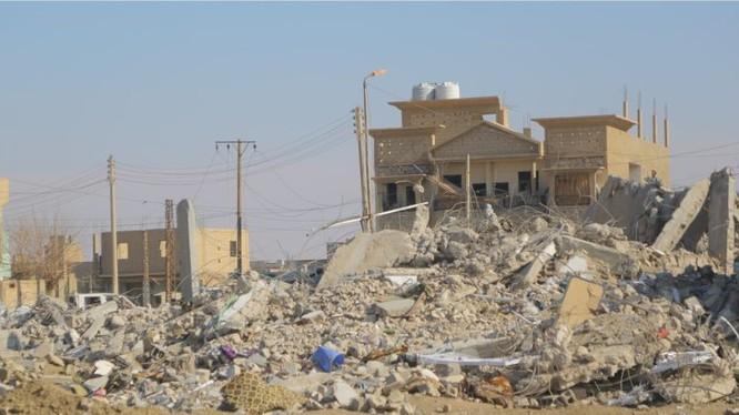 Lực lượng không quân liên minh do Mỹ dẫn đầu không kích ở Deir Ezzor. Ảnh minh họa Soth Front