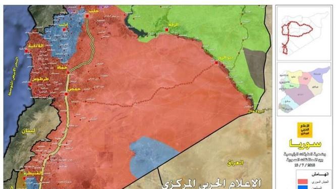 Quân đội Syria giải phong một vùng lãnh thổ rộng lớn ở Daraa