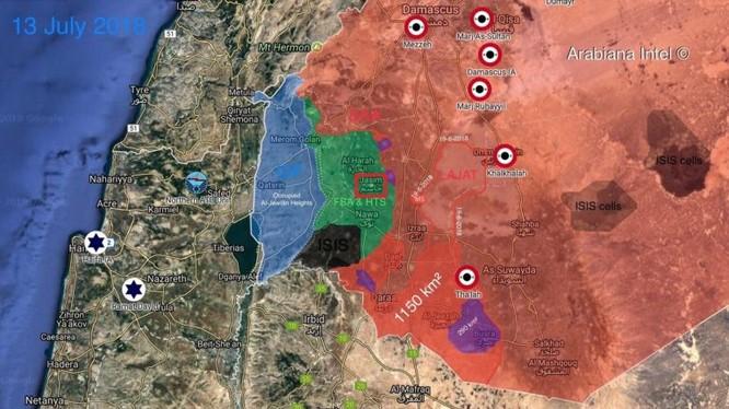 Tình hình chiến sự tỉnh Daraa, ảnh South Front