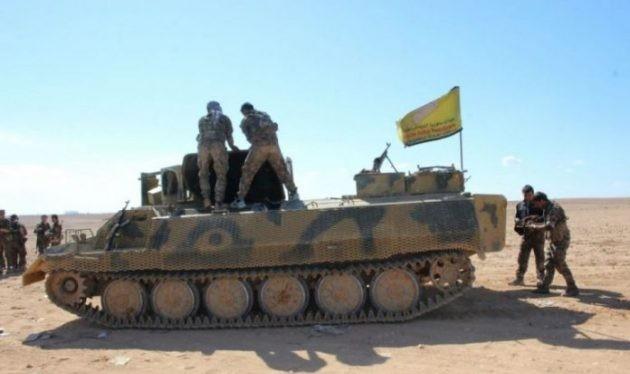 Lực lượng Dân chủ Syria SDF chuẩn bị tiến công. Ảnh South Front