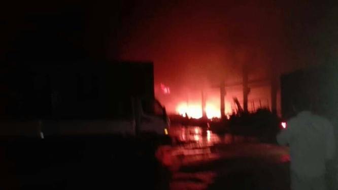 Không quân Israel ném bom căn cứ sân bay quân đội Syria gần Aleppo. Ảnh minh họa South Front