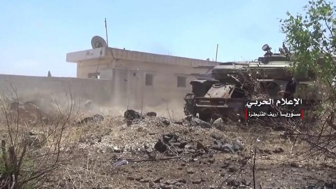 Quân đội Syria tiến công giải phóng quận Masharah, tỉnh Al-Qaneitra