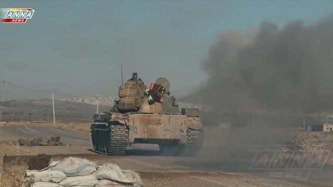 Sư đoàn Tiger giải phóng cao điểm Tal - Harrah. Ảnh video ANNA News