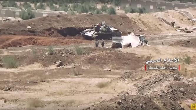Quân đội Syria tiến công giải phóng Mashara và cao điểm liền kề / Ảnh video