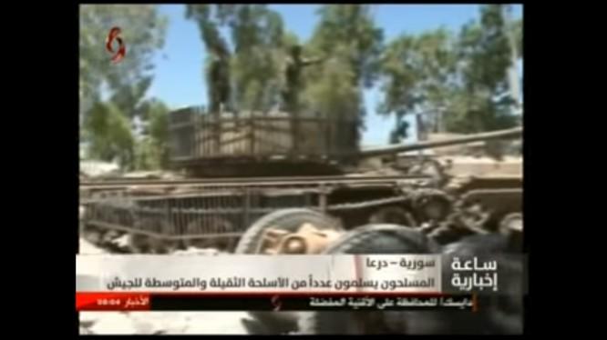 Quân đội Syria thu giữ vũ khí lực lượng Hồi giáo cực đoan ở Daraa