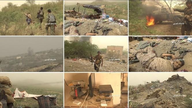 Truyền thông Houthi công bố video chiến công của lực lượng. Ảnh minh họa video