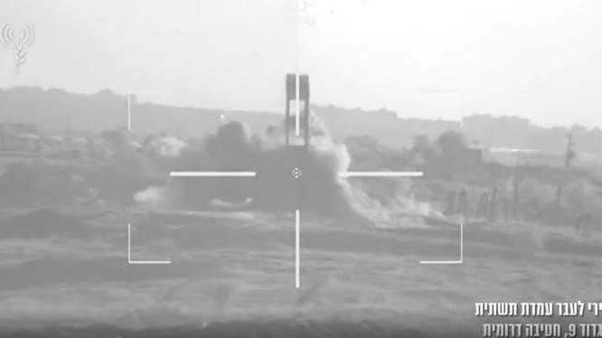 Xe tăng Merkava Mk 4 trang bị trí tuệ nhân tạo. Ảnh minh họa video