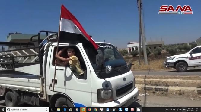 Quân đội Syria giải phóng hầu hết địa phận tỉnh Daraa, Quneitra. Ảnh minh họa South Front